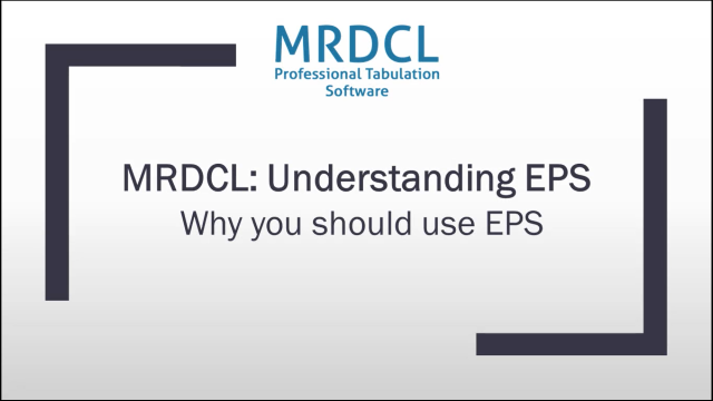 Why you should use EPS