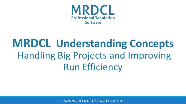 handling big projects