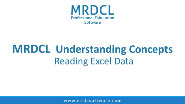 reading excel data