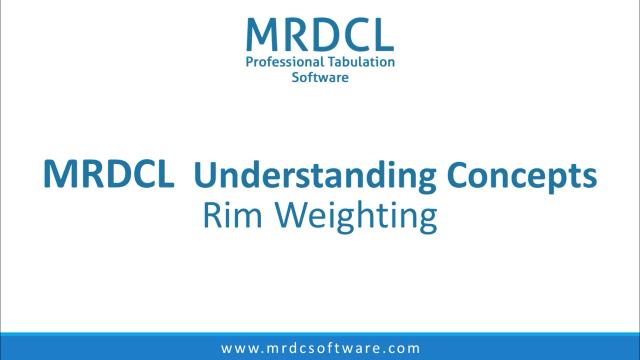 rim weighting