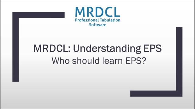 who should use EPS